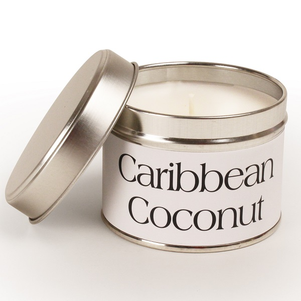 Caribbean Coconut Coordinate Candle