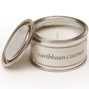 Caribbean Coconut Paint Pot Candle