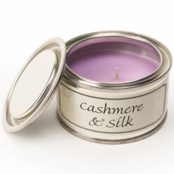 Cashmere and Silk Paint Pot Candle