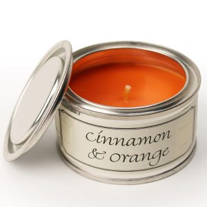 Cinnamon and Orange Paint Pot Candle