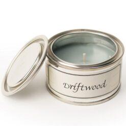 Driftwood Paint Pot Candle