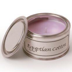 Egyptian Cotton Paint Pot Candle