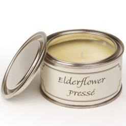 Elderflower Presse Paint Pot Candle