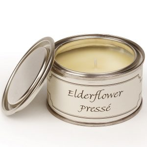 Elderflower Presse Paint Pot Candle