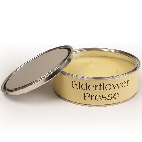 Elderflower Presse Triple Wick Candle