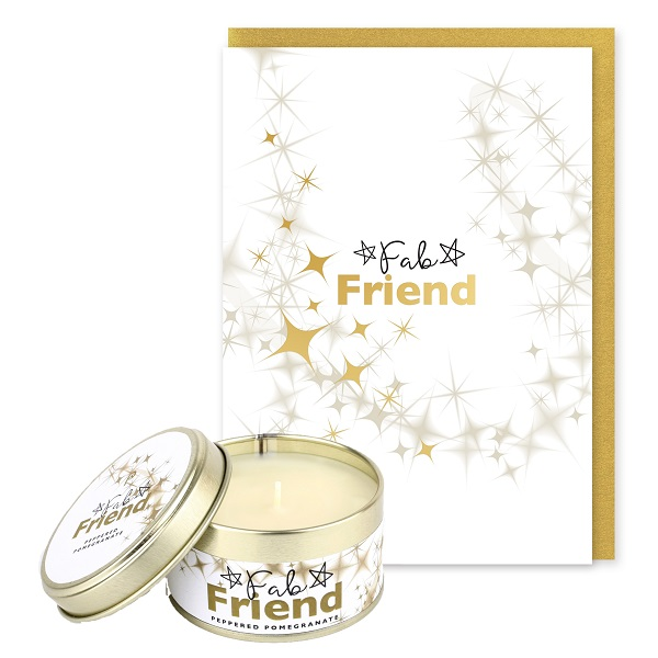 Fab Friends Occasions Candle and Card