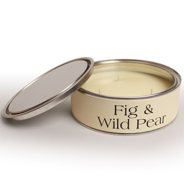 Fig and Wild Pear Triple Wick Candle