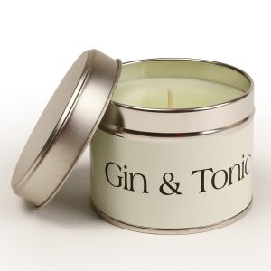 Gin and Tonic Coordinate Candle