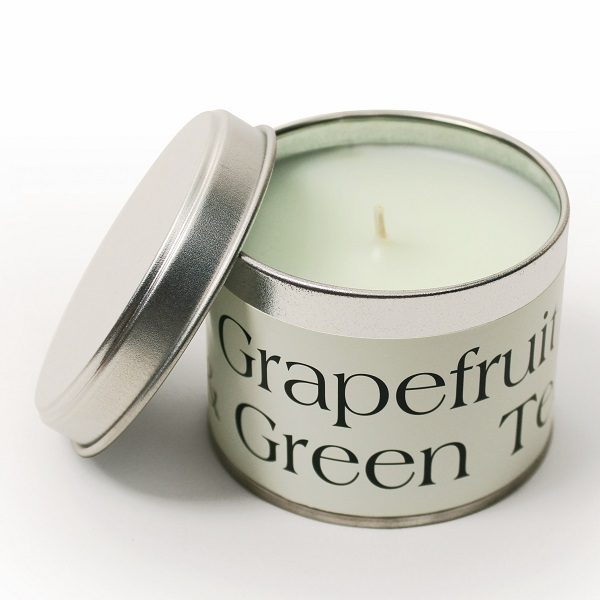 Grapefruit and Green Tea Coordinate Candle