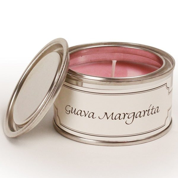 Guava Margarita Paint Pot Candle
