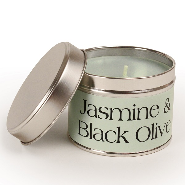 Jasmine and Black Olive Coordinate Candle