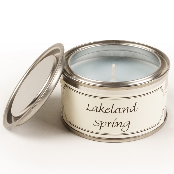 Lakeland Spring Paint Pot Candle
