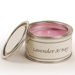 Lavender and Bay Paint Pot Candle