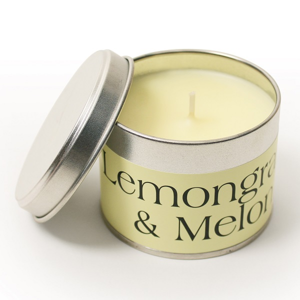 Lemongrass and Melon Coordinate Candle