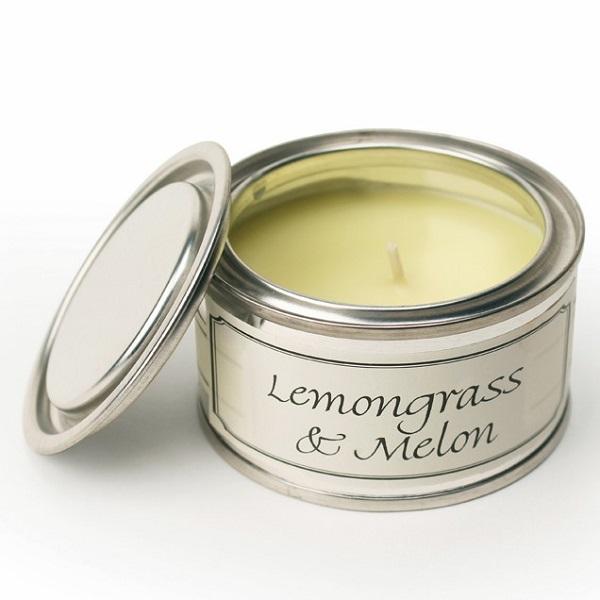 Lemongrass and Melon Paint Pot Candle