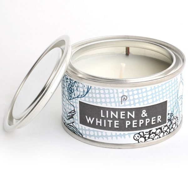 Linen & White Pepper Elements Candle