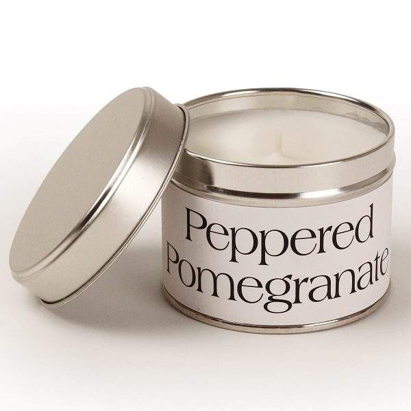Peppered Pomegranate Coordinate Candle