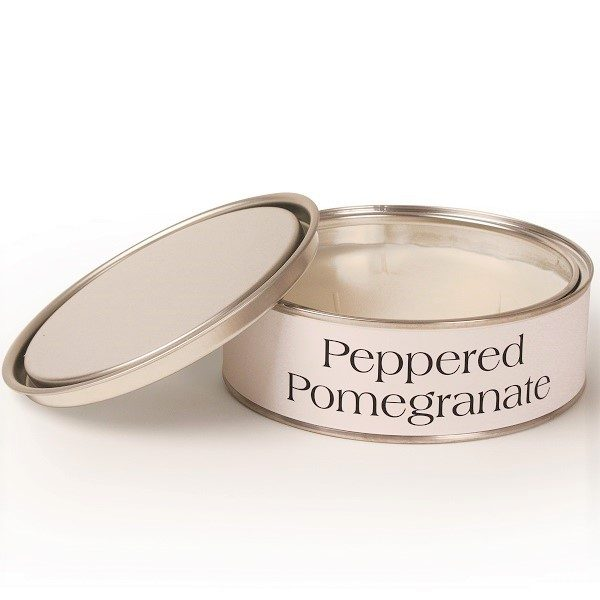 Peppered Pomegranate Triple Wick Candle