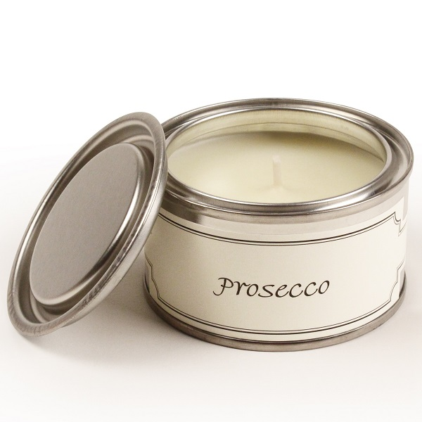 Prosecco Paint Pot Candle