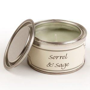 Sorrel and Sage Paint Pot Candle