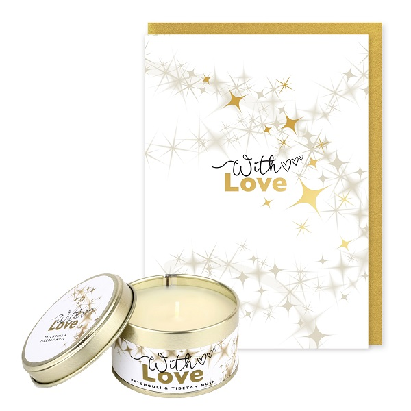 With Love Occasions Candle and Card