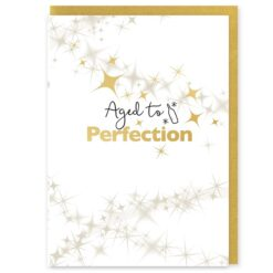 Aged to Perfection Greetings Card and Envelope