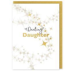 Darling Daughter Greetings Card and Envelope