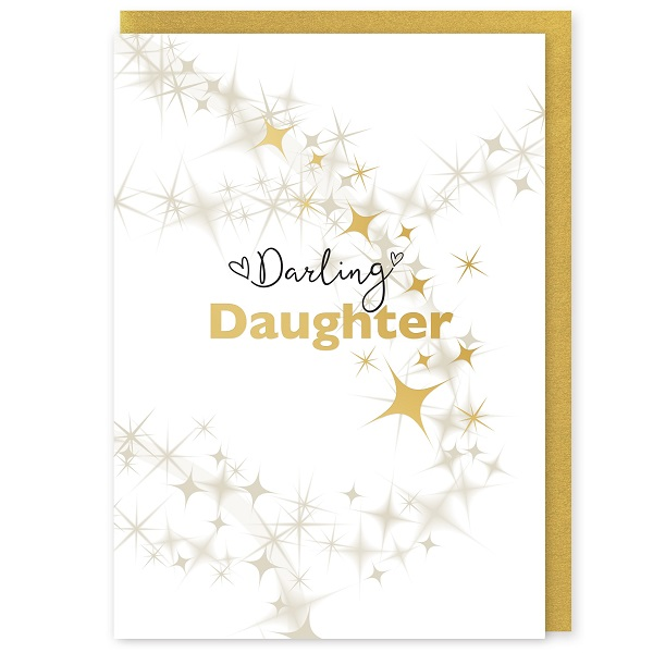 Darling Daughter Greetings Card and Envelope