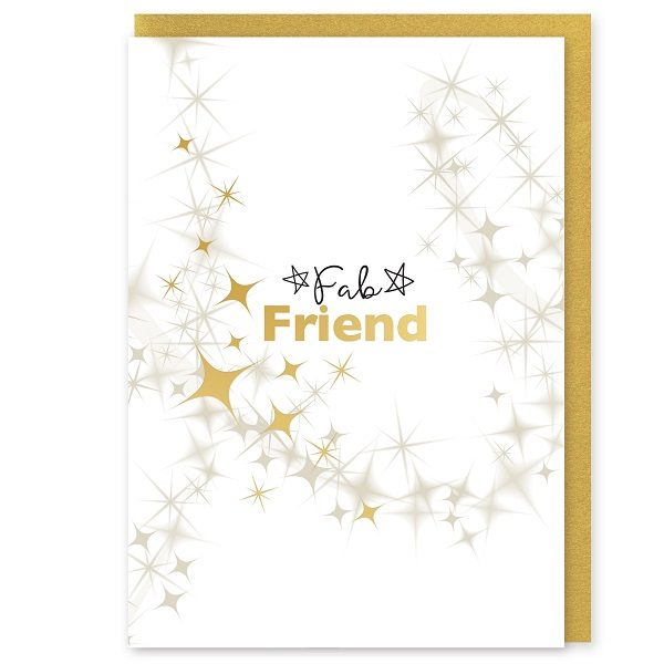 Fab Friends Greetings Card and Envelope