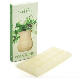 Fig and Wild Pear Wax Melt Bar and Box