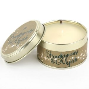 Frankincense and Myrhh Scents of Christmas Candle