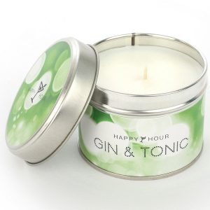 Gin and Tonic Happy Hour Candle