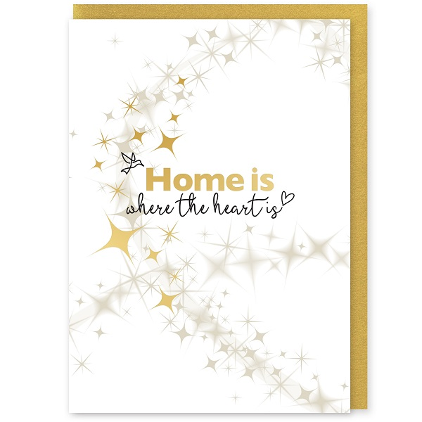 Home is Where the Heart Is Greetings Card and Envelope