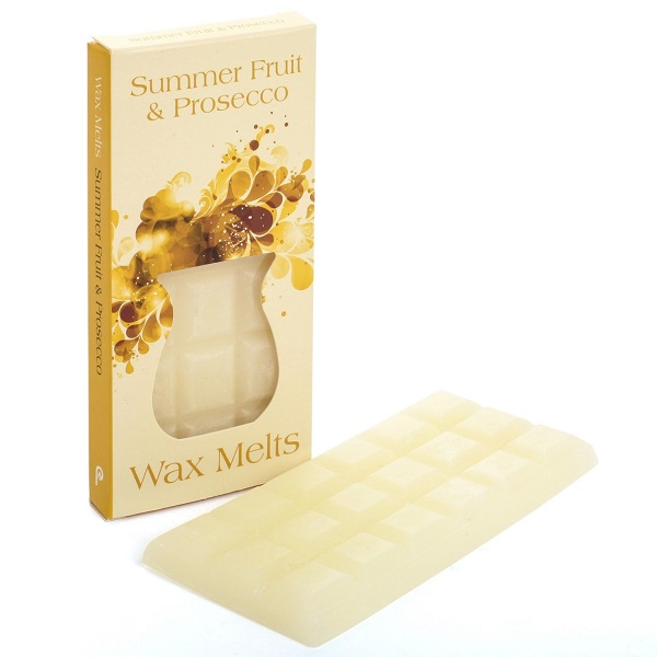 Summer Fruit and Prosecco Wax Melt Bar and Box