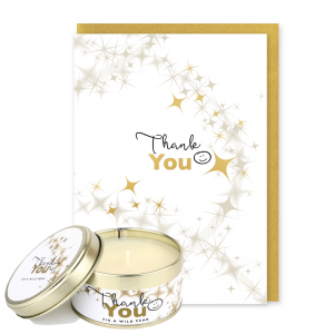 Thank You Occasions Card and Candle