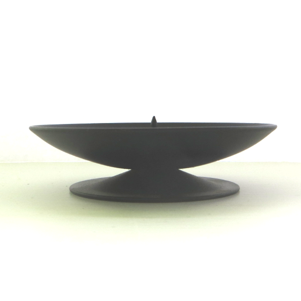 Dish Candle Holder Large Side View