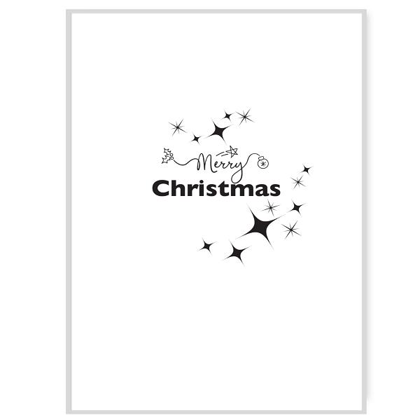 Merry Christmas Inside Card