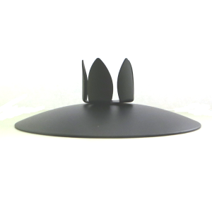 Petal Candle Holder Black