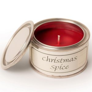 Christmas Spice Paint Pot Candle