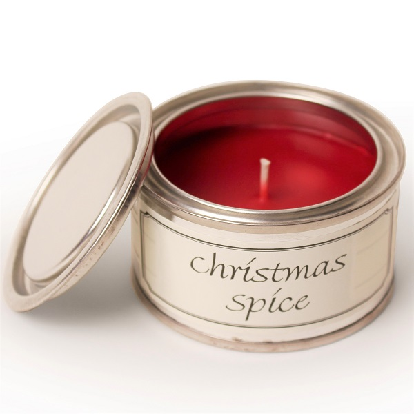 Christmas Spice Paint Pot Candle