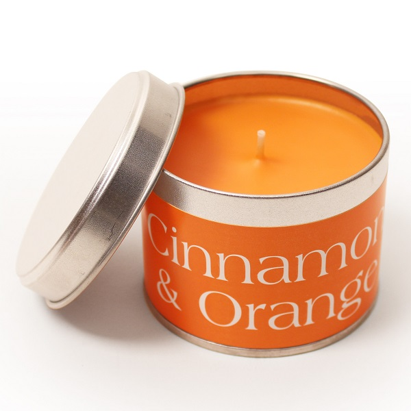 Cinnamon and Orange Coordinate Candle