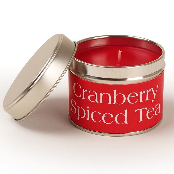 Cranberry Spiced Tea Coordinate Candle