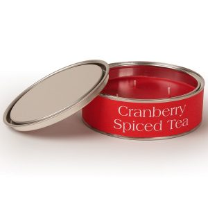Cranberry Spiced Tea Triple Wick Candle