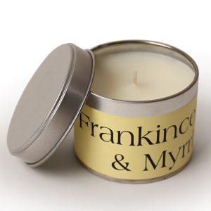 Frankincense and Myrrh Coordinate Candle