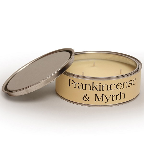 Frankincense and Myrrh Triple Wick Candle