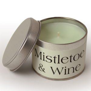 Mistletoe and Wine Coordinate Candle