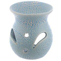Small Speckled Oil Burner blue