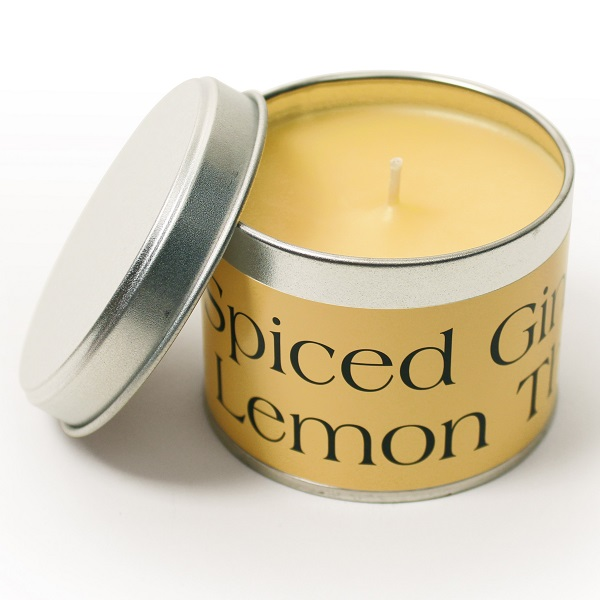 Spiced Ginger and Lemon Thyme Coordinate Candle