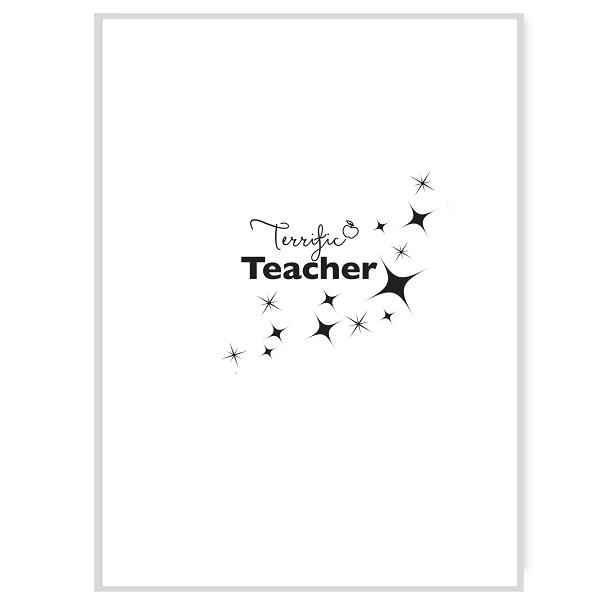 Terrific Teacher Inside Card