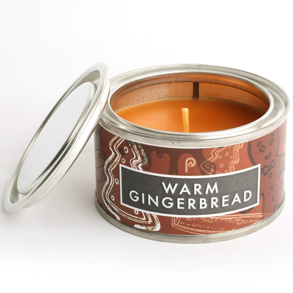 Warm Gingerbread Elements Candle